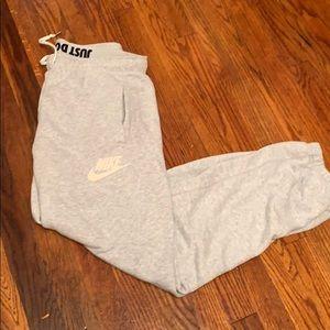 Grey Nike Joggers/ Sweatpants